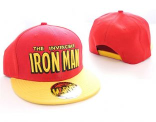 Marvel Iron Man Flat Peak Baseball Cap